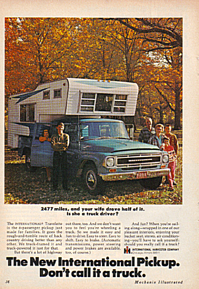 International Harvester Pickup Truck AD (Image1)