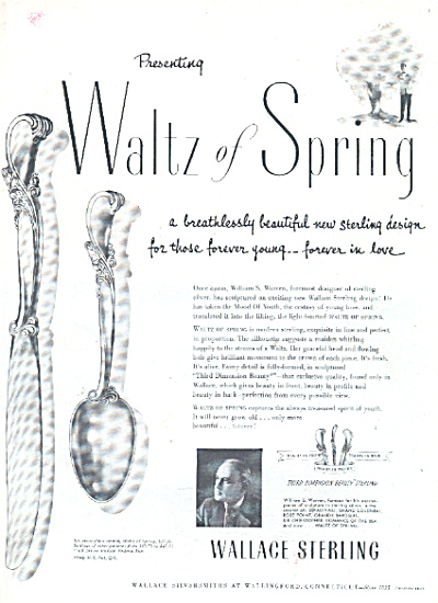 1953 WALLACE Sterling WALTZ of Spring SILVER (Image1)