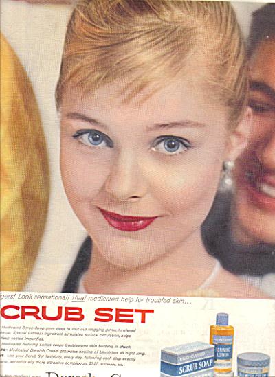 1957 Dorothy Gray Scrub CAROL LYNLEY Set AD (Image1)