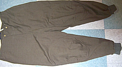 Wwii Usaf Usaaf Pants Wool Flying Tunic E-1 Flight Suit