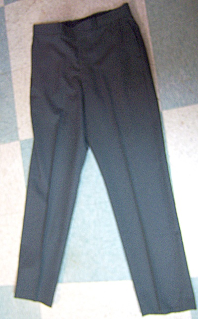 Us Military Trousers Men's Polyester/wool Serge Ag 344