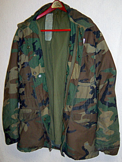 Us Military Bdu Field Jacket Woodland Camo Usgi Cold