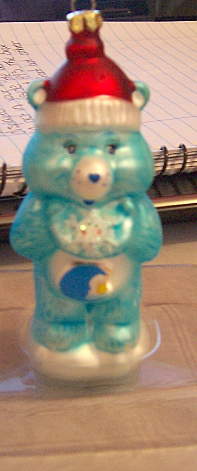 Vintage Bedtime Care Bear Christmas Ornaments (Image1)