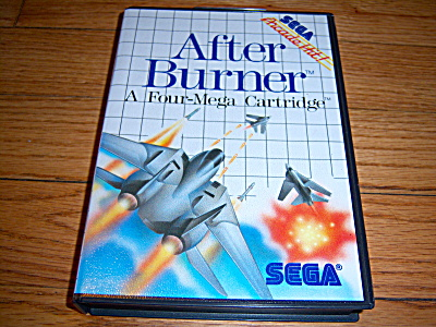 AFTER BURNER 1988 SEGA MASTER ARCADE Hit GAME Collector (Image1)