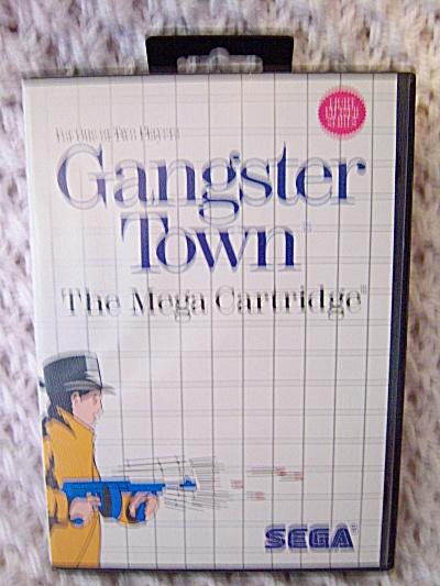 Gangster Town (Sega Master) COMPLETE GAME W/ BOOKLET ~  (Image1)