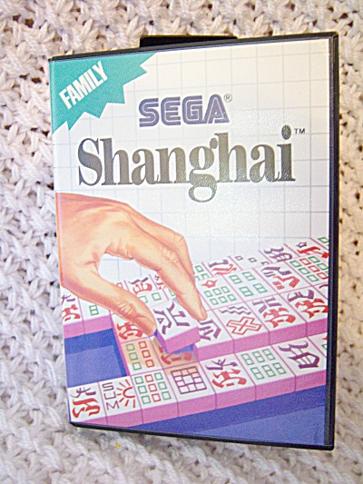 Shanghai (Sega Master) PUZZLE GAME COMPLETE WITH CASE ~ (Image1)