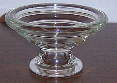 Glass Punch Bowl Base - Candle Holder (Image1)