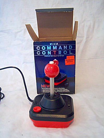 WICO Command Control Famous RED BALL Joystick Controlle (Image1)
