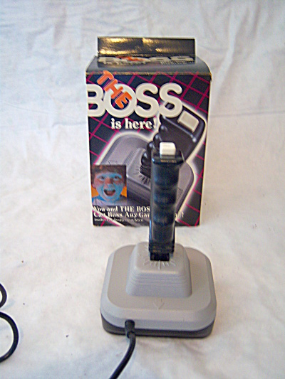 The Boss Joystick by Wico Atari ++++  2600 Original Box (Image1)