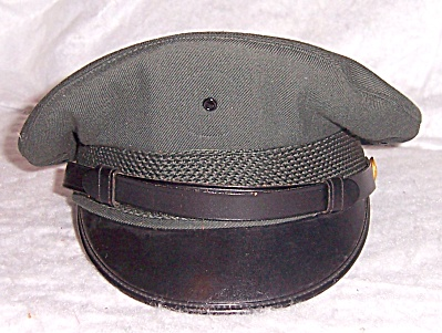 US ARMY VIETNAM MEN'S SERVICE CRUSHER CAP HAT 6 7/8 #2 (Image1)