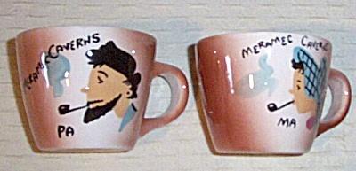 Vintage MA - PA Mugs Cups Meramec Caverns  (Image1)