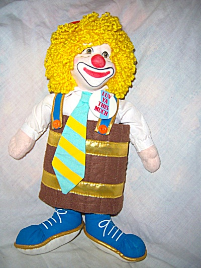 1988 Applause LOVEABLE LUKE RON LEE LTD ED CLOWN DOLL (Image1)