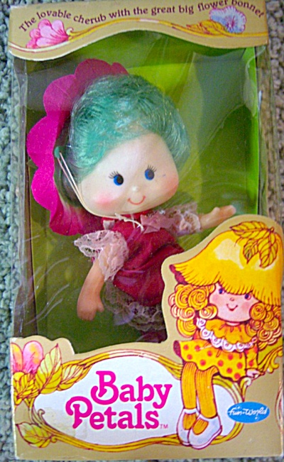 Nrfb Fun World Baby Petals Doll Morning Glory 1980's
