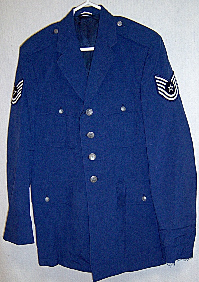 U.S Military Coat, Man�s, Tropical,Polyester/Wool A.F.  (Image1)