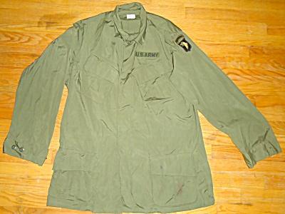 1969 Vietnam Lg Combat Tropical Jacket Coat Mans Poplin (Image1)