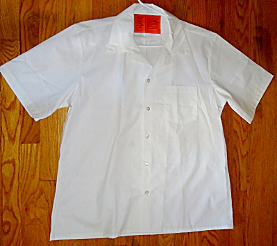 US Army Military Issue Medical Assistants White Smock L (Image1)