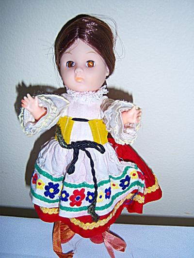 1972 VOGUE GINNY DOLL FRANCE ALL ORIGINAL OUTFIT #1848 (Image1)