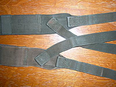 WWII M1944 Combat Suspenders  for M44/M45 1944-1948  (Image1)