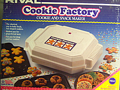 NFRB Vintage USA Rival COOKIE Factory - Snack Maker (Image1)