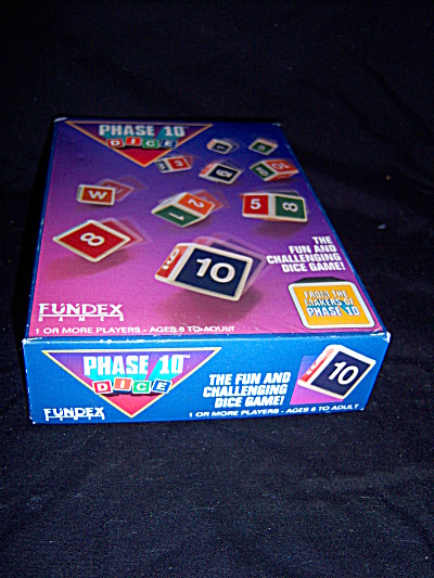 1993 SEALED DICE GAME Phase 10 Dice Fundex Games COMPLE (Image1)