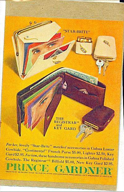 1960's Prince Gardner STAR BRITE Lighter +Ad. (Image1)
