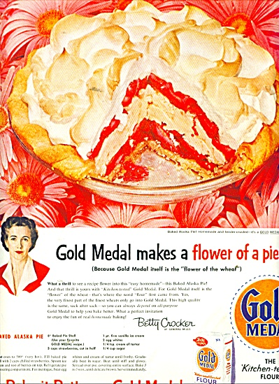 Gold Medal flour ad 1956 (Image1)