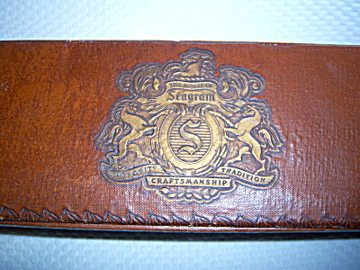 Vintage Seagram Gift Box - Leather ~ Leather look -  (Image1)