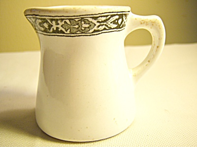Antique DUPARQUET Black Transfer Individual CREAMER Res (Image1)