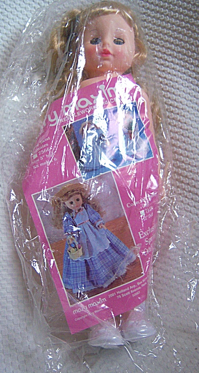 1988 MARY MAXIM Undressed DRESS ME DOLL Cititoy ~12 in (Image1)