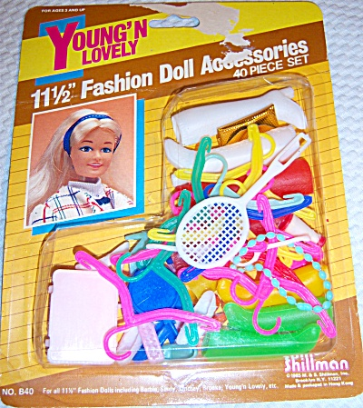 Vintage Shillman Dolls Fashion Doll Accessories Set