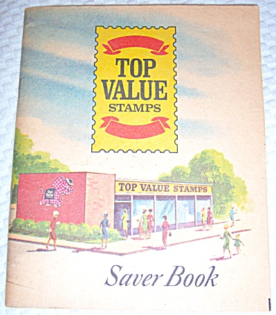 MINT ~ NEVER USED TOP VALUE STAMPS SAVER BOOK ~ NEW ~ U (Image1)