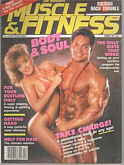 Muscle & Fitness Magazine October 1987 BODY AND SOUL (Image1)