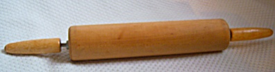 OLD Vintage Wood Rolling Pin PERFECT UNUSED (Image1)