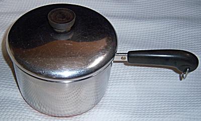 REVERE WARE Vintage 1801 COPPER CLAD 3 Qt (Quart) SAUCE (Image1)