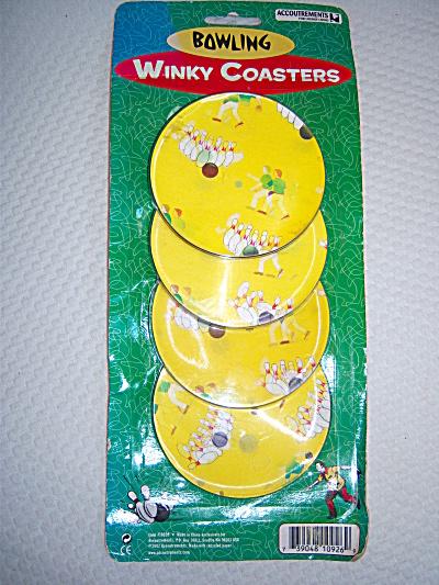 Bowl Ball Flicker Coasters