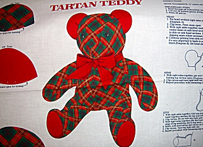 Cranston VIP CHRISTMAS Teddy Bear ~ Tartan Plaid ~  Cra (Image1)