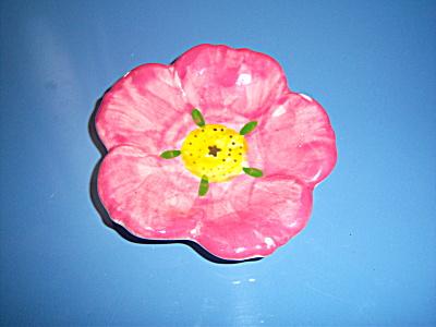 FRANCISCAN Desert Rose Butter Pat Tea Bag Holder Ashtra (Image1)