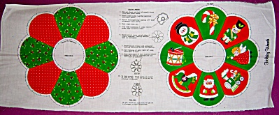 VIP Cranston HOLIDAY WREATH  Cut and Sew Fabric Panel C (Image1)