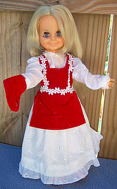 Ideal Velvet Movin' Groovin' Doll 1971 Crissy Family -