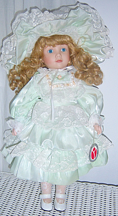 Vintage Doll Delton Fine Collectibles Porcelain