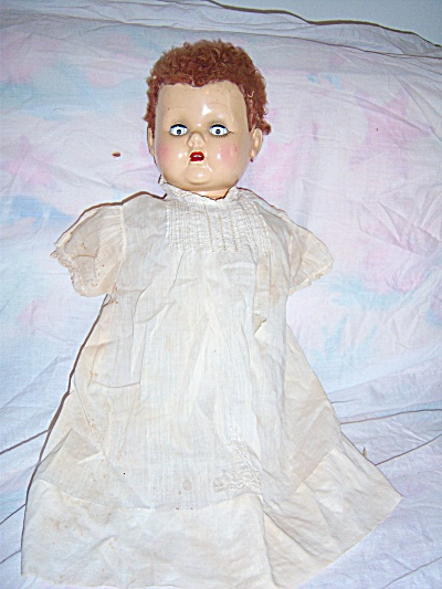 "Antique 1940s Madame Alexander 22"" Doll Ax - Great Redo"