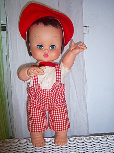 1965 Jolly Doll Company CUTIE Chubby ~ Kaysam Squeeky  (Image1)