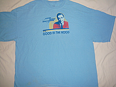 Vintage Mister Rogers Neighborhood It's All Good Hood (Image1)