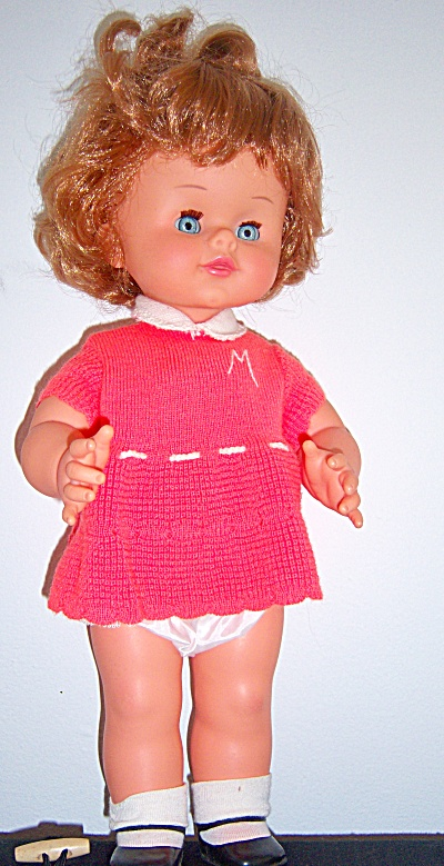 Vintage Michela By Sebino - Italian Talking Doll