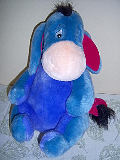 Disney Store Eeyore Large Plush Winnie the Pooh  (Image1)