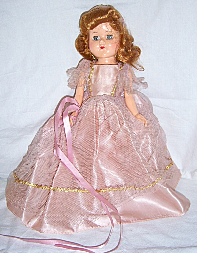 1950s 11.5 - 12 A H Donna Doll By Marcie Hard Plastic