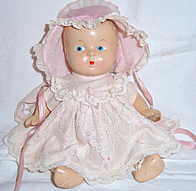 Antique 1937 Sears Composition Baby Jointed Side