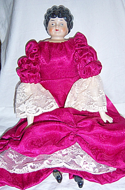 1960s ++ Artist Antique Reproduction German China Doll