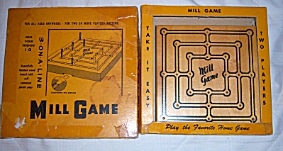 Mill Game No. 553 By Wm. F. Drueke & Sons Grand Rapids