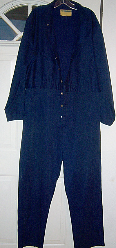 Vintage WRANGLER WORK WEAR WW  COVERALLS Size 46   (Image1)